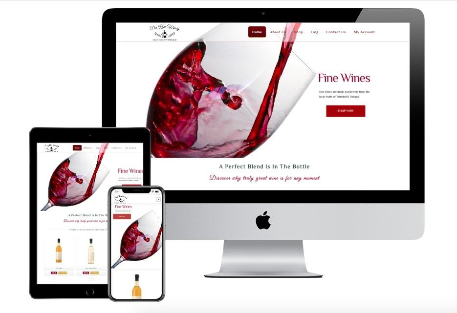 Webs TT Dukam Winery Mockup